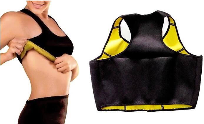 hot shaper bra